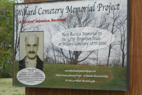 Willard Cemetery Memorial Project 5.18.2013